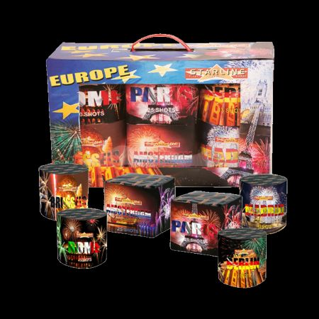 Europe Box - Assortiment de 6
