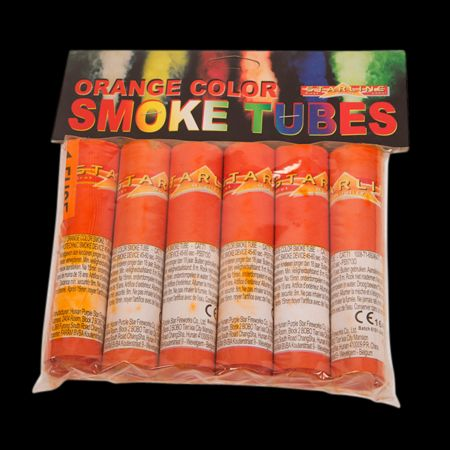 Orange Smoke Tubes - 1 pièce